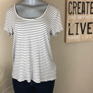 Forever 21 Striped Tee Shirt